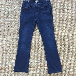 EUC CAbi Dark Indigo Jeans Style # 515L Size 4